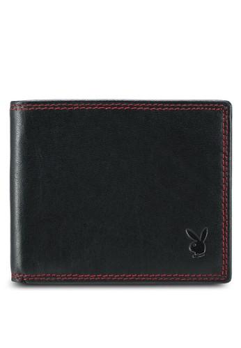 Playboy black Playboy Bi-Fold Wallet 4A23CAC86614D5GS_1