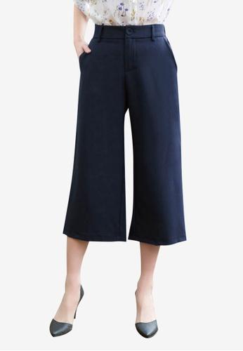 Tokichoi navy Wide Legged Trousers 4E7D8AA321E21EGS_1