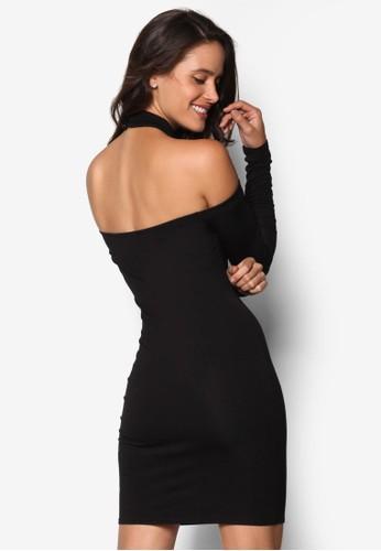 esprit 衣服繞脖挖肩迷你洋裝, 服飾, 洋裝