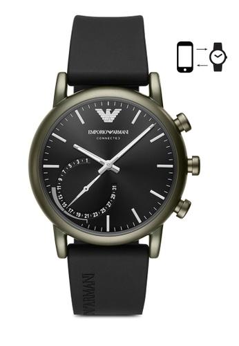 ARMANI black Armani Luigi Black Smart Watch ART3016 AR024AC0SM3GMY_1