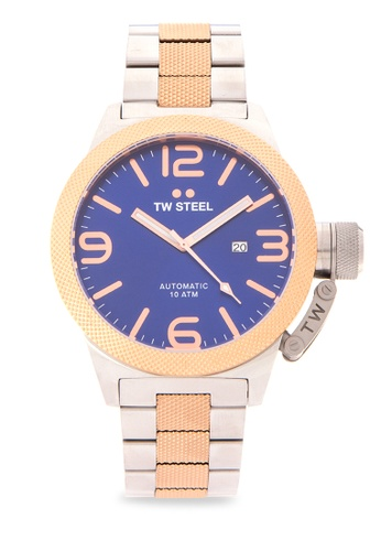 TW Steel silver CB146 Canteen Bracelet Analog Watch TW310AC0KMA8PH_1