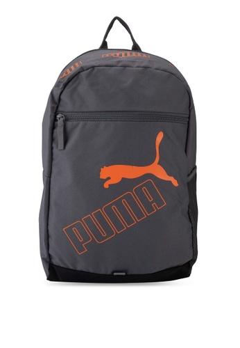 PUMA grey Phase Backpack II 0E88CACFB460E2GS_1