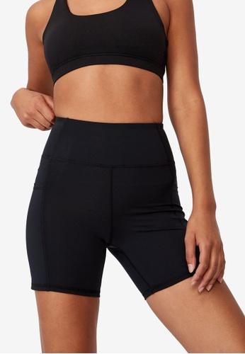 Cotton On Body black Lifestyle Pocket Bike Shorts 4903FAAD7214BDGS_1