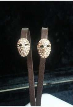 small mask earring