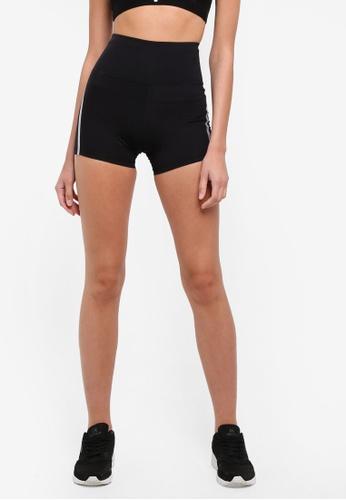 Cotton On Body black Luxe High Waist Shorts CO561AA0S69VMY_1
