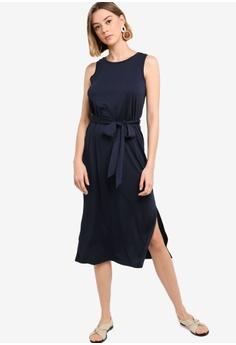 8096657e88255 16% OFF Banana Republic Sleeveless Ponte Tie Waist Column Dress S$ 161.90  NOW S$ 135.90 Sizes S M L