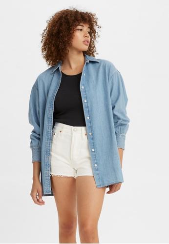 Levi's blue Levi's® Women's Quinn Tunic Shirt 29832-0001 A6D66AA1E7EBECGS_1