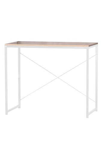 8C Furniture white Yage Office Table 4D812HL0E49115GS_1