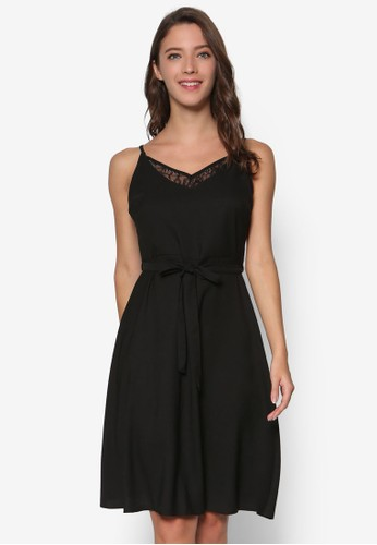 Petite 蕾絲細esprit outlet 高雄肩帶洋裝, 服飾, 洋裝