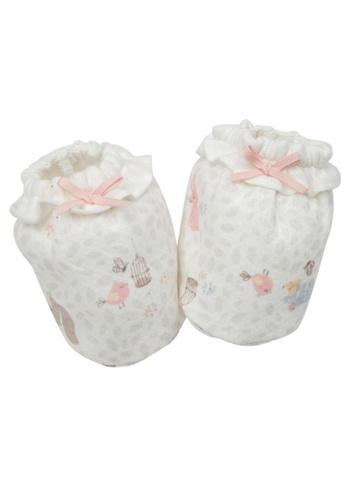 Organic mom pink Organic Picnic Time Socks (FALL) 4BA5DKAAF36503GS_1