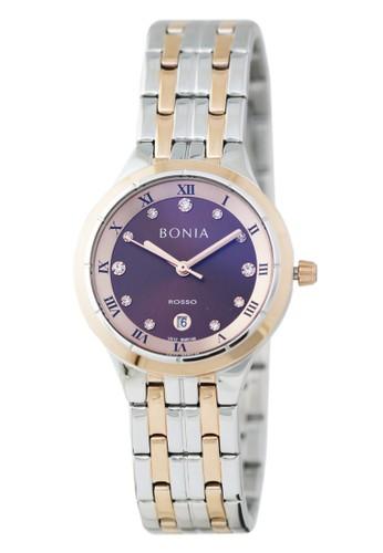 BONIA silver Jam Tangan Bonia Rosso Jam Tangan Wanita BR148-2643 Original 5199CAC68DC015GS_1