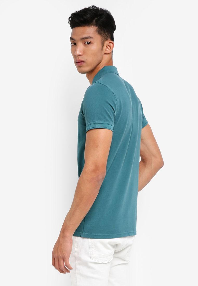 BOSS Boss Polo Shirt Green Open Prime Casual 6pfawI6H