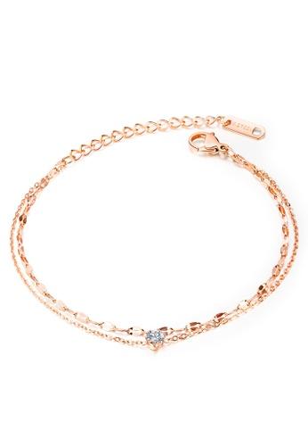 Trendyshop gold Layer Bracelets 3B550ACB46F3BBGS_1