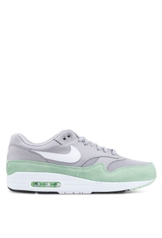75b588434a Nike grey and multi Men's Nike Air Max 1 Shoes 81F8DSH2D62559GS_1