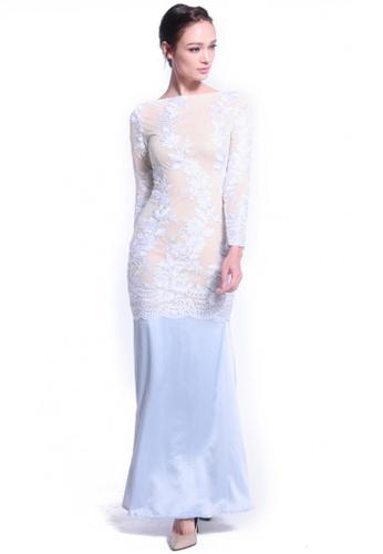 Buy DreamTales Wardrobe Lace Evening Dress Online | ZALORA Malaysia