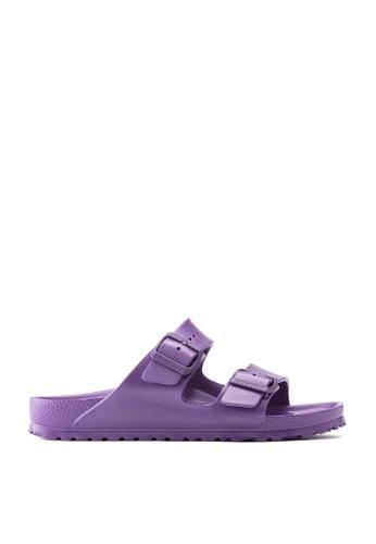 Birkenstock purple Arizona EVA Sandals 9346FSHC3EA192GS_1