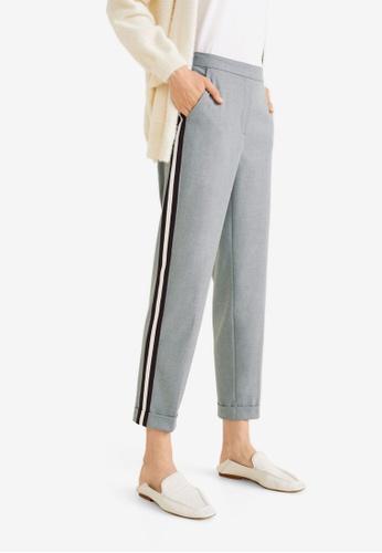 Mango grey Straight Trousers D443AAA4F82939GS_1