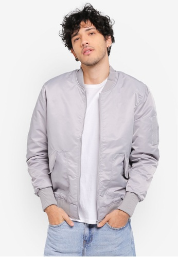 Factorie silver Solo Bomber Jacket FA880AA0SKIAMY_1