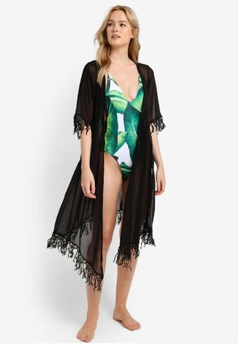 Malibu Beachwear black Mali Tassle Kaftan MA709US18JAZMY_1