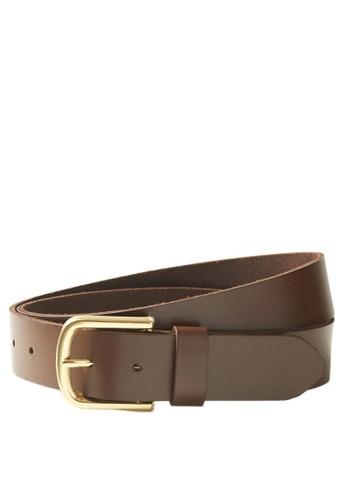 MARKS & SPENCER brown Leather Hip Belt 4DB11AC1983EF8GS_1