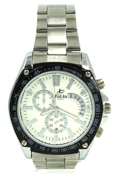 Valia Terry Unisex Stainless Steel Strap Watch 8162-2