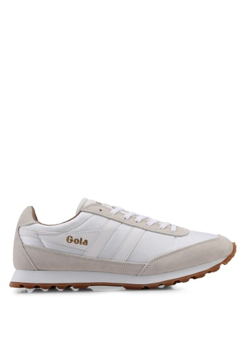 Gola beige Flyer Sneakers D2272SHE3CEF61GS_1