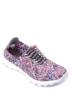 Weave Patterned Sneakers