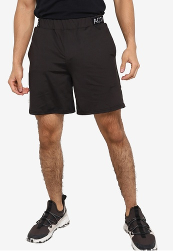 ZALORA ACTIVE black Active Basic Shorts 4A118AAD2F5EECGS_1