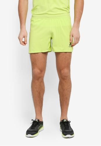 Odlo green Vigor Shorts 511D0AA2855276GS_1