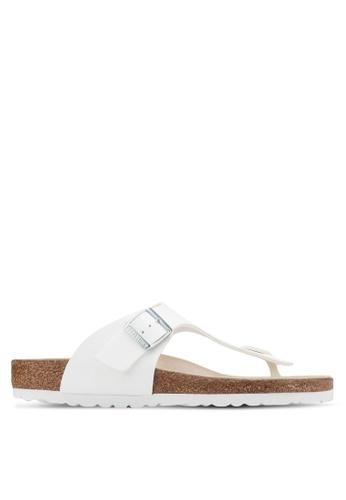 Birkenstock white Ramses Sandals BI090SH67HNCMY_1