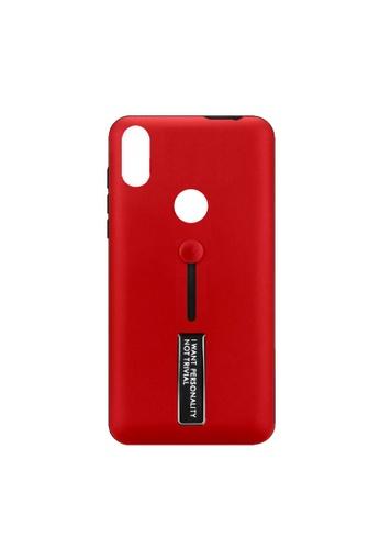 MobileHub red ASUS Zenfone Max M2 (ZB633KL) Tech Armor Soft Ring Stand E15EAACCC29E40GS_1