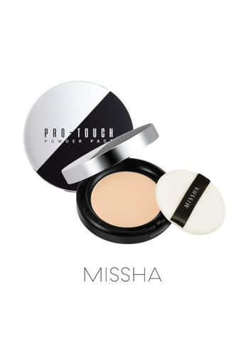 Missha Missha Pro-Touch Powder Pact SPF25/PA++ 71FF0BE5C5C1ADGS_1