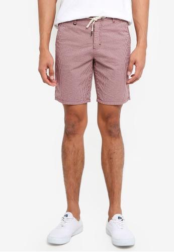 Sisley 藍色 素色短褲 192E4AAAAC11C7GS_1