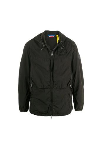 """Moncler green Moncler """"Nuvolao"""" Jacket in Dark Green 9972DAA590A0A1GS_1"""
