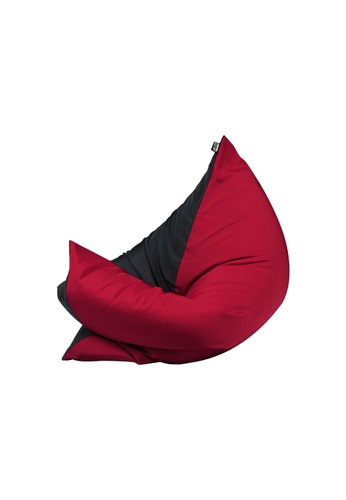 doob black and red and multi PLOPSTA' - versatile spill-proof doob bean bag (Chilled Wine) 66F10HL6B78E43GS_1
