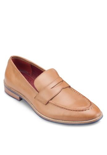 便士皮革樂esprit地址福鞋, 鞋, 皮鞋