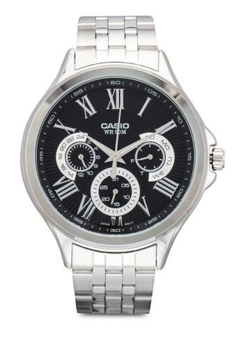 MTP-E308esprit 童裝D-1AVDF 羅馬數字不銹鋼圓錶, 錶類, 飾品配件