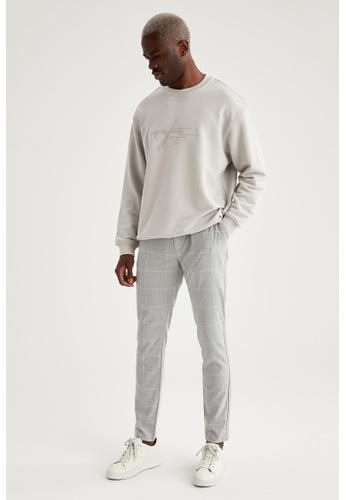 DeFacto grey Jogger Trousers B8177AA645038FGS_1