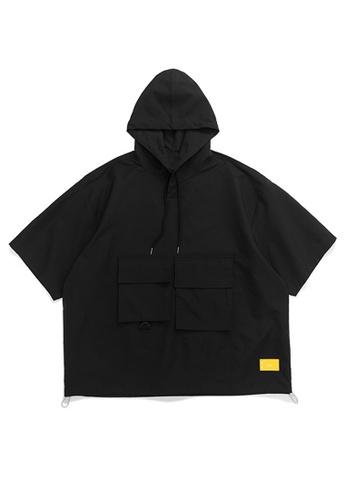 Twenty Eight Shoes Loose Casual Hooded Short T-shirt 1061S20 E7EA3AA348A0E2GS_1