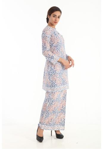 Amar Amran blue Kurung Moden Batik Pastel 7AA6AAAE59C40AGS_1