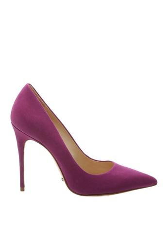 SCHUTZ 紫色 SCHUTZ 絨面尖頭高跟鞋 - HELLEN (紫色) 43AE5SH0859642GS_1