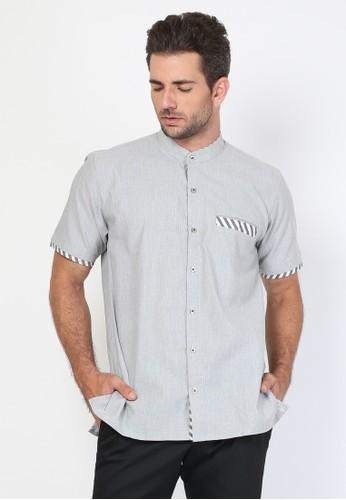 Allev grey Khalid Shirt - Abu 4A68CAA7B45E40GS_1