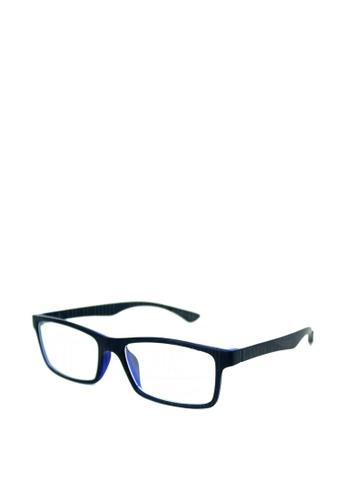 Peculiar and Odd blue Optical Rubberized Frame XQY 7926 PE789GL0JXG9PH_1