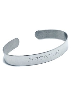 Stainless Steel Breathe Bangle