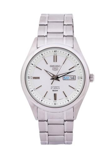 Seiko silver Seiko Jam Tangan Pria - Silver White - Stainless Steel - SNKN85K1 Automatic SE382AC0VBWWID_1
