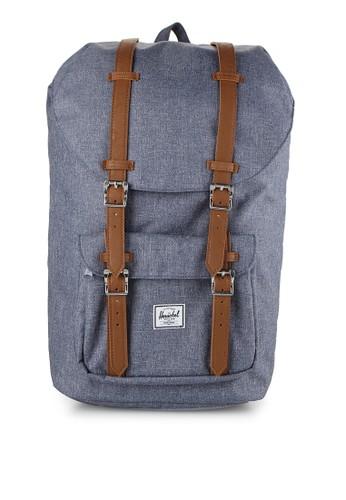 Herschel navy Little America Backpack HE449AC0UDOXID_1