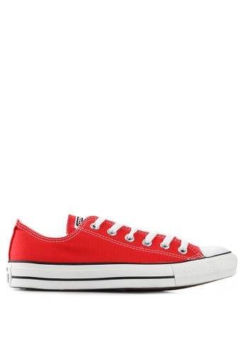 Converse red Ct As Canvas Ox Shoes CO302SH21XYSID_1