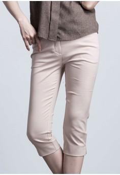 Sleek Sensation Capri Pants