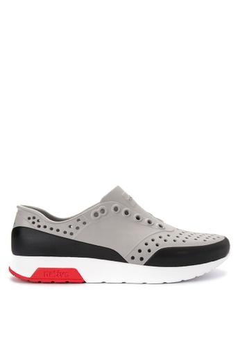 Native grey Lennox Block Sneakers 21E9ASHF390E57GS_1
