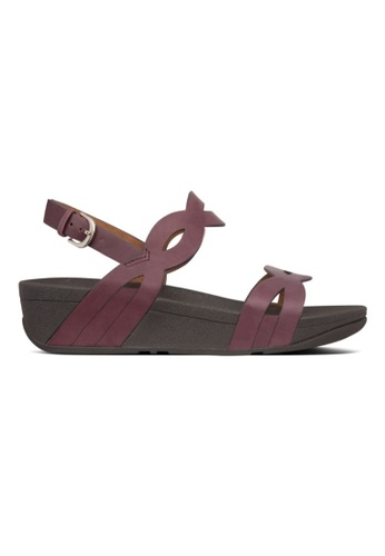 FitFlop purple Fitflop Eva Interlace Sandal Lingonberry 5A16ESH32A152DGS_1